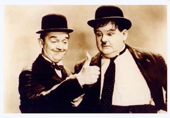 laurel and hardy yesterday