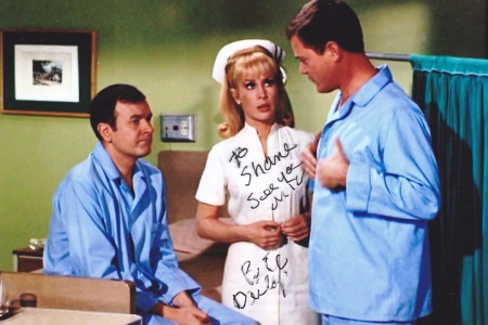 BARBARA EDEN is now 76 years old, LARRY HAGMAN is now 79, and BILL DAILY is ...
