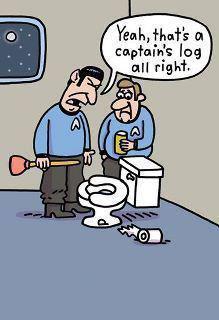 funny toilet jokes humor cartoon bathroom plunger humour random 27th potty trek star gross thoughts monday february joke poop log