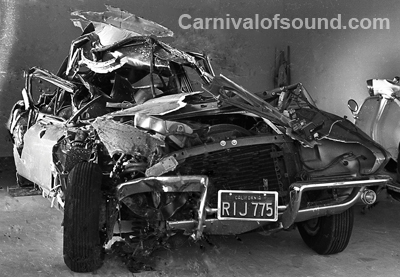 Jan Berry Car Accident Photos