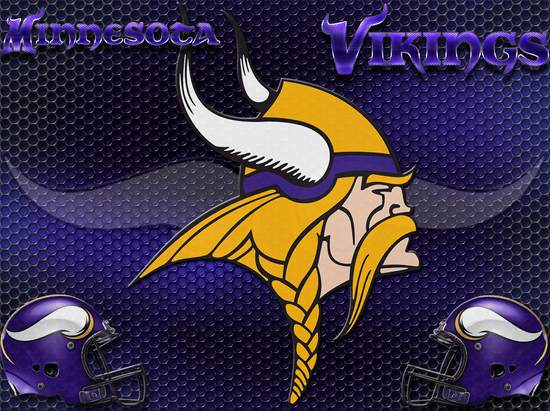 Minnesota Vikings Heavy Metal 4x3 wallpaper