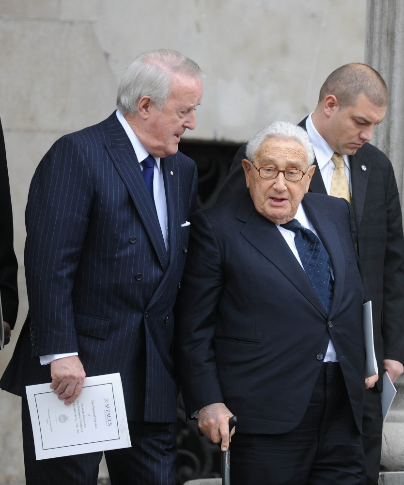 Henry+Kissinger+Ceremonial+Funeral+Service+DcgDLheE39ex