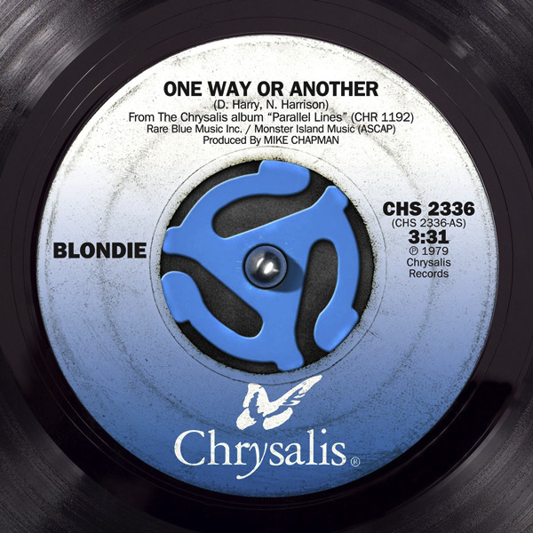 Blondie - One Way or Another Remastered - Single iTunes cover 600x600