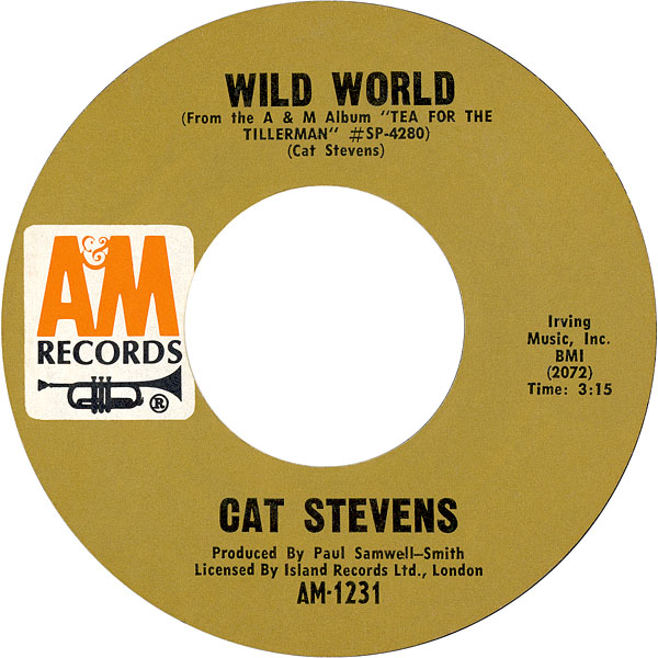 Cat Stevens Wild World Wow Video
