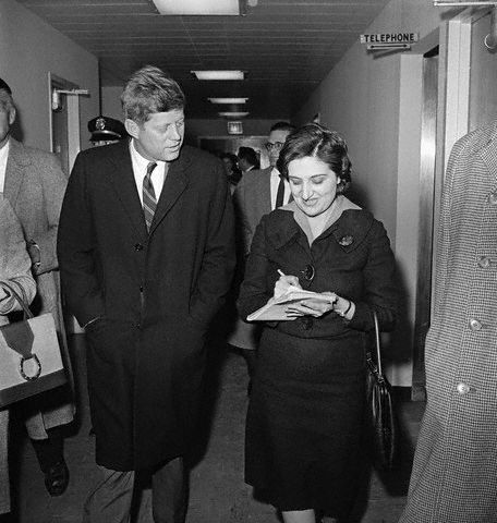 Kennedy Interviewed by Helen Thomas