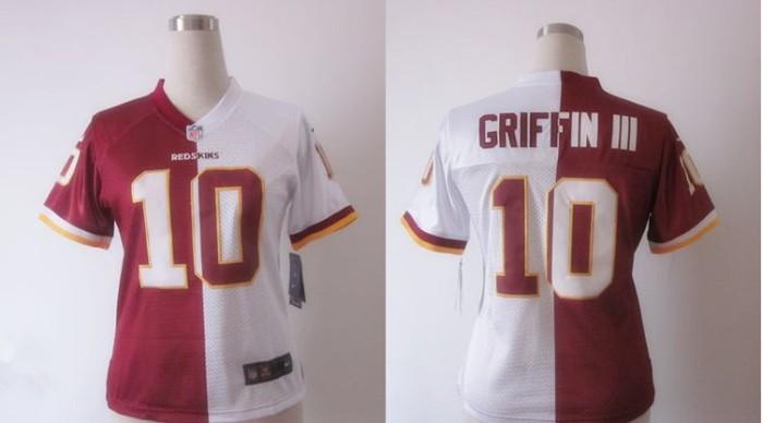 NFL-Washington-Redskins--2310-GRIFFINIII-Split-womens-NIKE-Jersey-4102-36994