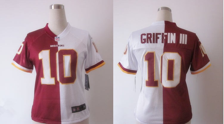 NFL-Washington-Redskins--2310-GRIFFINIII-Split-womens-NIKE-Jersey-4102-36994