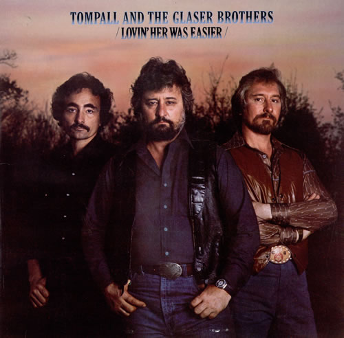 Tompall+&+The+Glaser+Brothers+-+Lovin'+Her+Was+Easier+-+LP+RECORD-480228