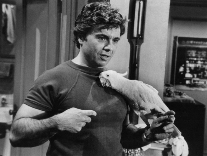 Robert_Blake_Baretta_and_Fred_1976