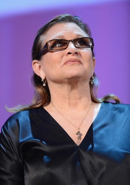 Carrie+Fisher+Opening+Ceremony+Venice+Film+o20RplLZw8Jl