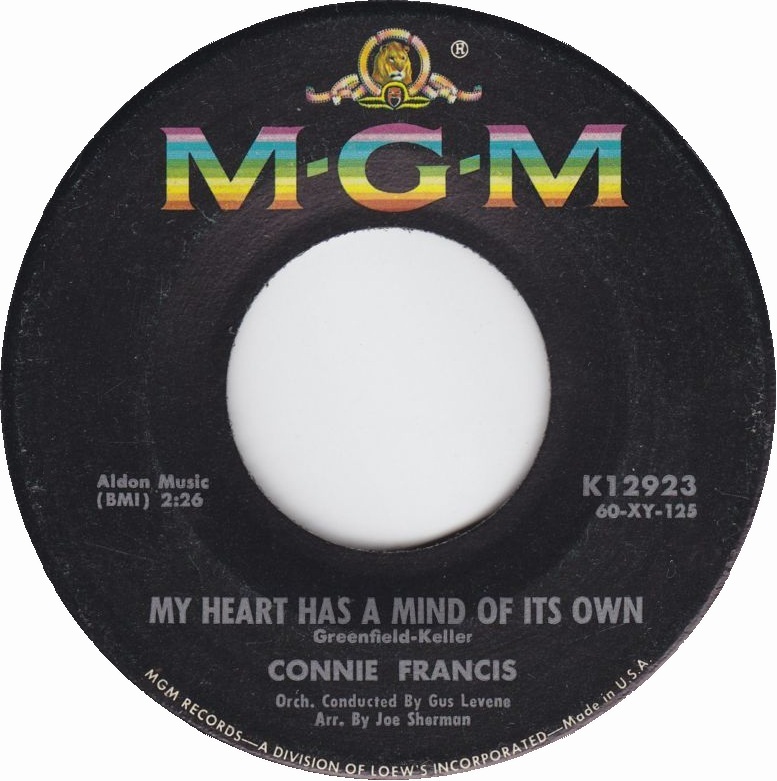 connie-francis-my-heart-has-a-mind-of-its-own-1960