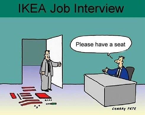 Funny-cartoon-Ikea-job-interview