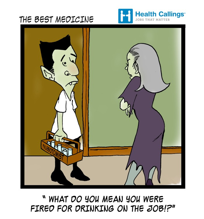 The-Best-Medicine-Funny-Healthcare-Cartoons-Phlebotomist-Vampire