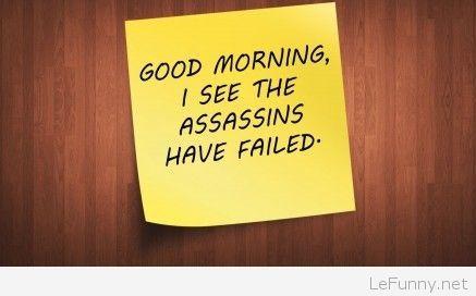 Sarcastic-good-morning-message