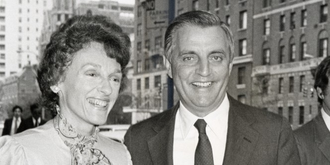 Walter Mondale Sighting at the Regency Hotel in New York City - May 27, 1981