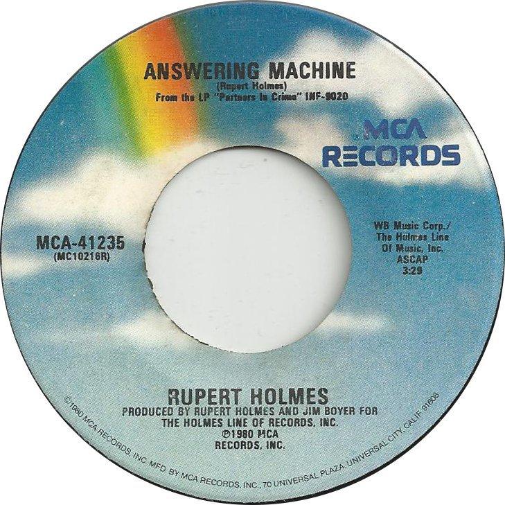 rupert answering machine