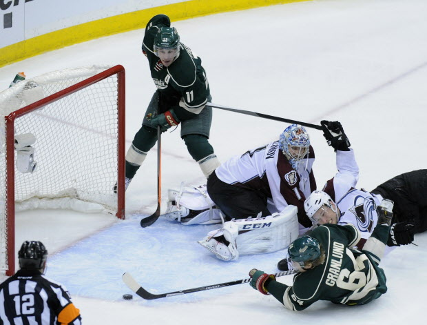 Colorado Avalanche v Minnesota Wild - Game Three