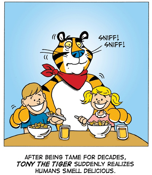 Great Tony Have Tiger Day