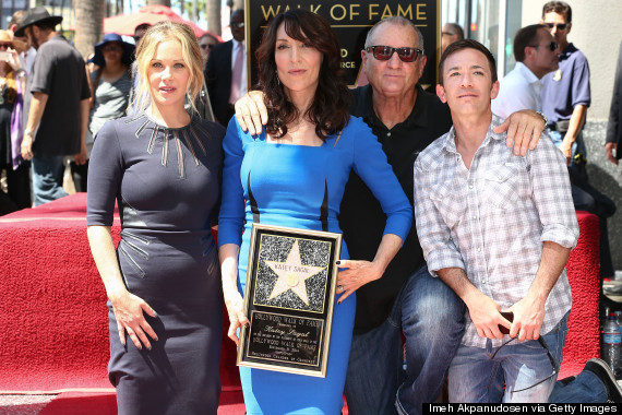Katey Sagal Honored On The Hollywood Walk Of Fame