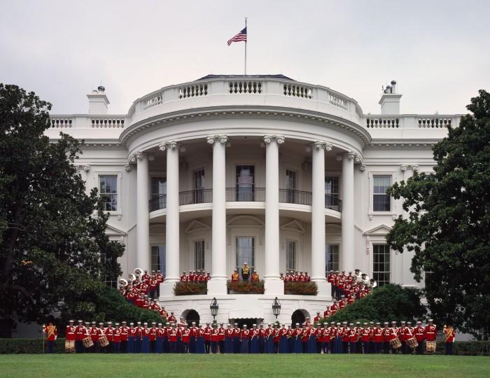 United_States_Marine_Band_at_the_White_House