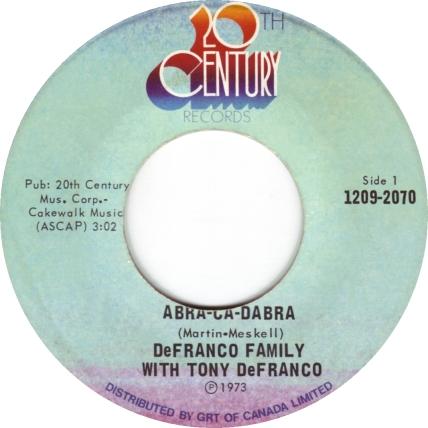the-defranco-family-featuring-tony-defranco-abracadabra-20th-century