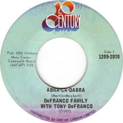 the-defranco-family-featuring-tony-defranco-abracadabra-20th-century