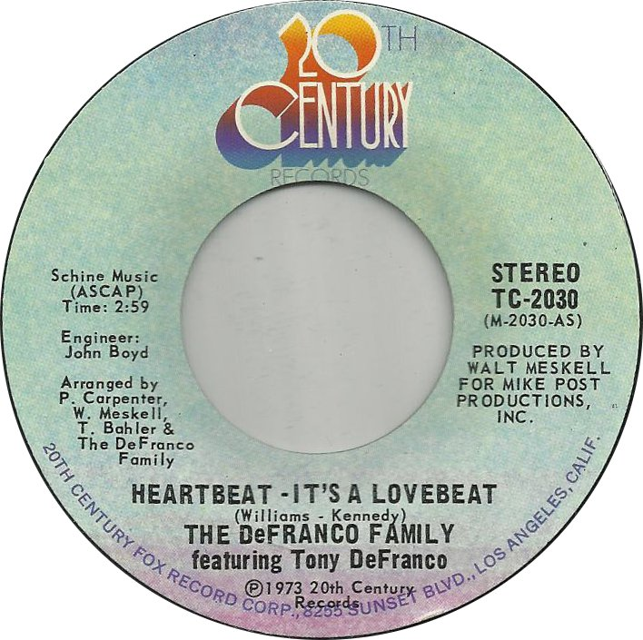 the-defranco-family-featuring-tony-defranco-heartbeatits-a-lovebeat-1973
