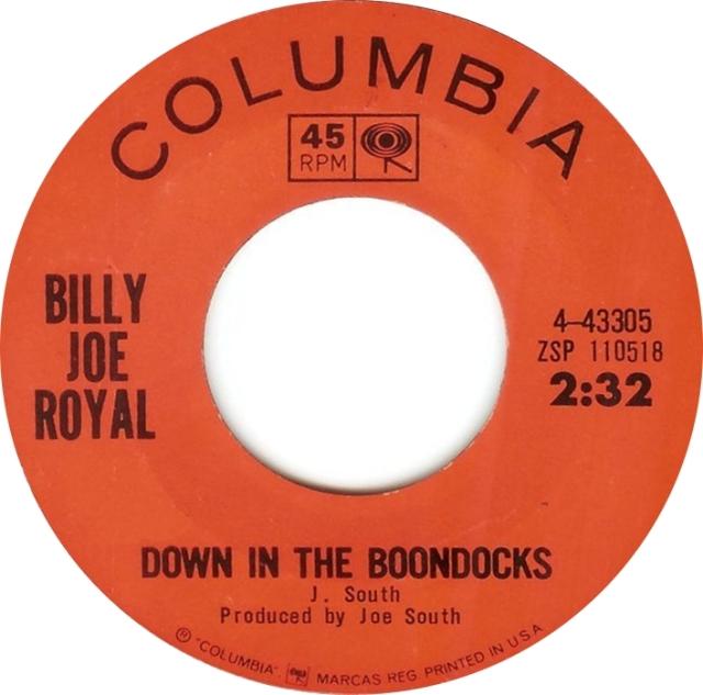 billy-joe-royal-down-in-the-boondocks-columbia