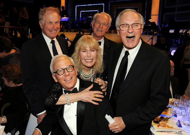 Wayne Rogers, Mike Farrell, Alan Alda, Loretta Swit and William Christoper 2009