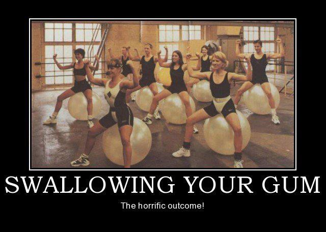 funny-swallowing-gum-women-gym-outcome