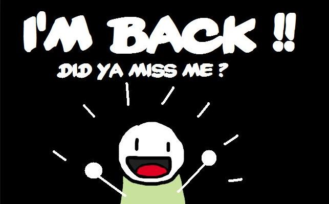 i-am-back
