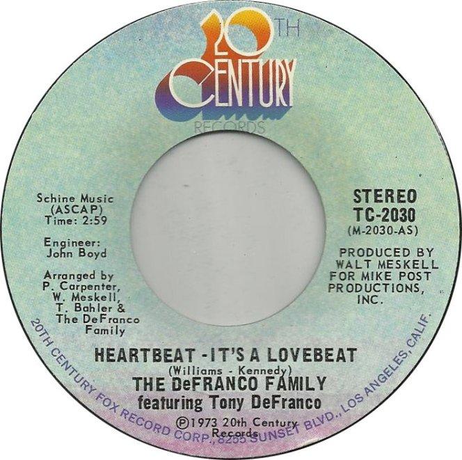 the-defranco-family-featuring-tony-defranco-heartbeatits-a-lovebeat-1973